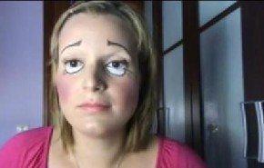 [Vídeo] Maquillaje para disfrazarse de muñeca en Halloween 2014