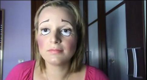 video-maquillaje-para-disfrazarse-de-muneca