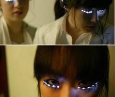 Pestañas LEDs