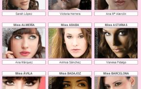 El maquillaje de las candidatas de Miss España 2010