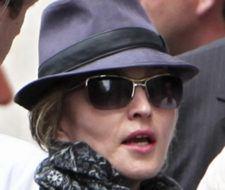 Madonna en Londres y ¡sin maquillaje!