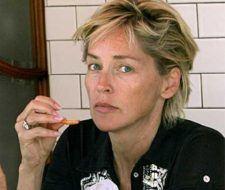 Sharon Stone sin Maquillaje