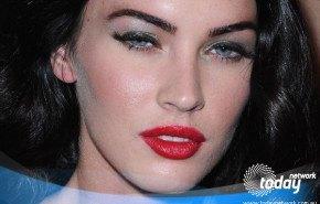 Megan Fox con el Labial Corrido