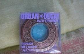 Urban Decay Matte Eyeshadow: sombras de ojos