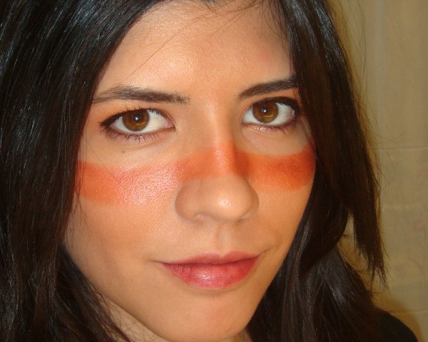 Maquillaje de India para Carnaval 2015