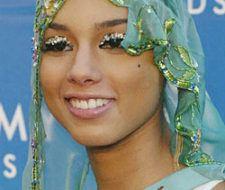 Alicia Keys con Piedras en los Ojos
