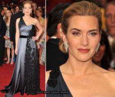 Kate Winslet en una gala de los Oscars