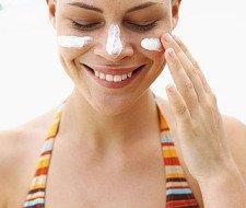 Protección solar y maquillaje