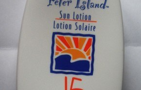 "Crema solar ""Peter Island"" de Amway"