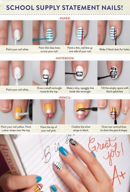 maquillaje de uñas paso a paso