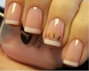 manicura francesa decoracion
