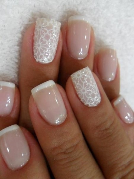 La decoración de uñas para novias 2016