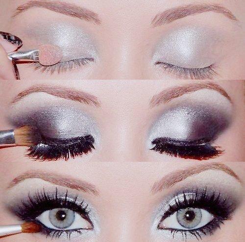 maquillaje metalizado