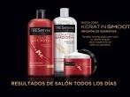 Controla el encrespamiento de tu pelo con Liso Keratina de TRESemmé