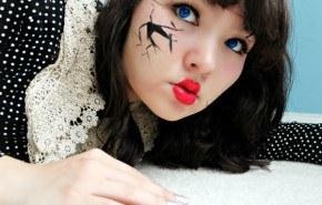 [Vídeo] Maquillaje para disfrazarse de muñeca en Halloween 2015