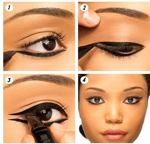 maquillaje-cleopatra-Halloween-2015-paso-paso-ojos-linea