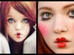 Maquillaje de Muñequita de trapo para Halloween 2014 (Vídeo)