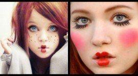 Maquillaje de Muñequita de trapo para Halloween 2015 (Vídeo)