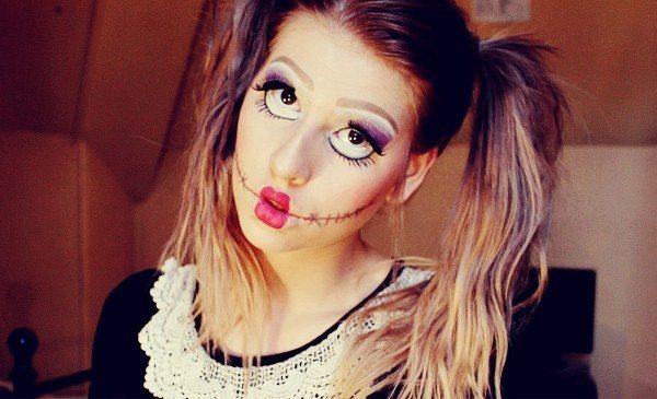 maquillaje-de-munequita-de-trapo-para-halloween-2014-paso-a-paso