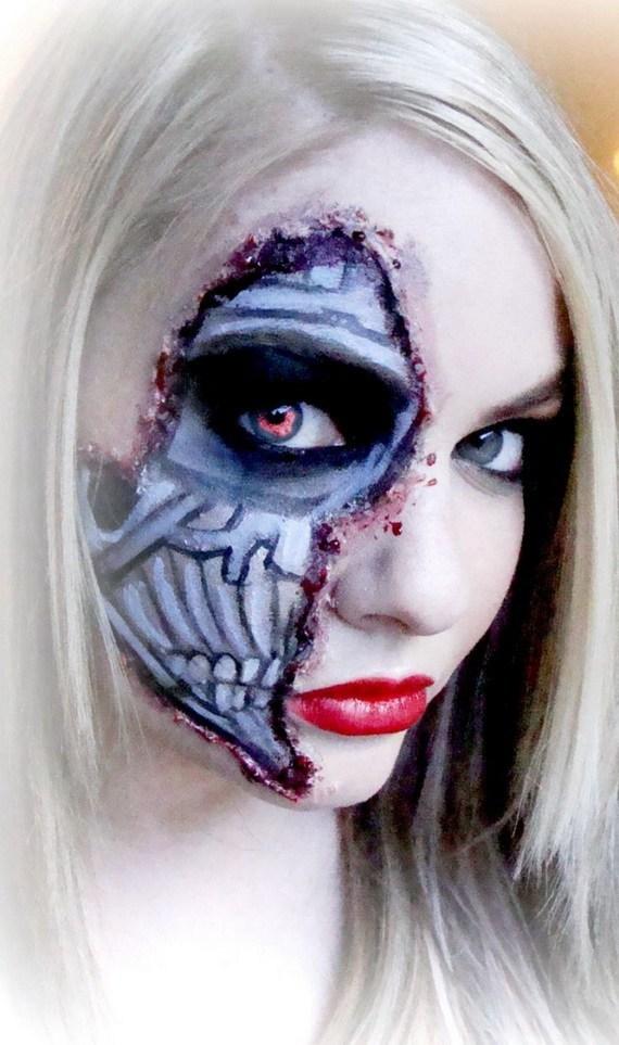 maquillaje-halloween-trucos-2014-base-maquillaje-blanco