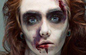 Maquillaje Halloween 2014 Zombie