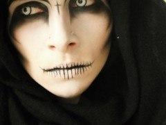 Maquillaje Halloween Muerte 2014