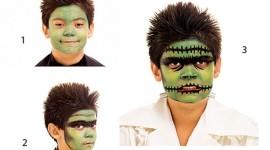 Maquillaje para niños en Halloween 2015