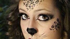 Maquillaje de leopardo para Halloween 2018 paso a paso