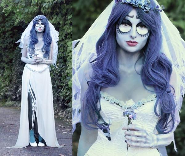 maquillaje-para-halloween-novia-cadaver-halloween-2015-ojos-redondos-marcados