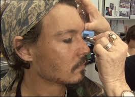 Maquillaje de pirata paso a paso-Jack Sparrow-Halloween 2015-paso-a-paso-smokey-eyes