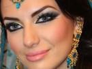 Maquillaje árabe exótico Halloween 2015, paso a paso