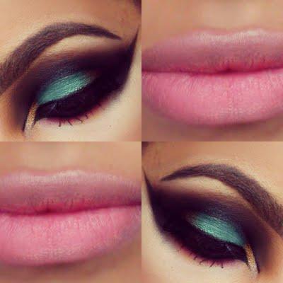 Imágenes de maquillaje árabe para Carnaval 2016ojos-y-boca