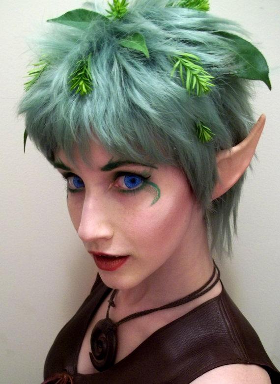 maquillaje-de-duende-para-carnaval-2016-maquillaje-de-mujer-con-orejas-y-peluca-verde
