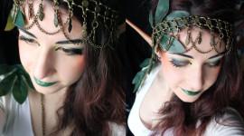 Maquillaje de duende delfos para Halloween 2017