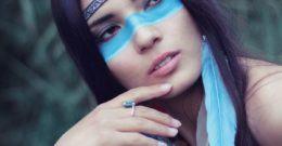 Maquillaje de India para Halloween 2017