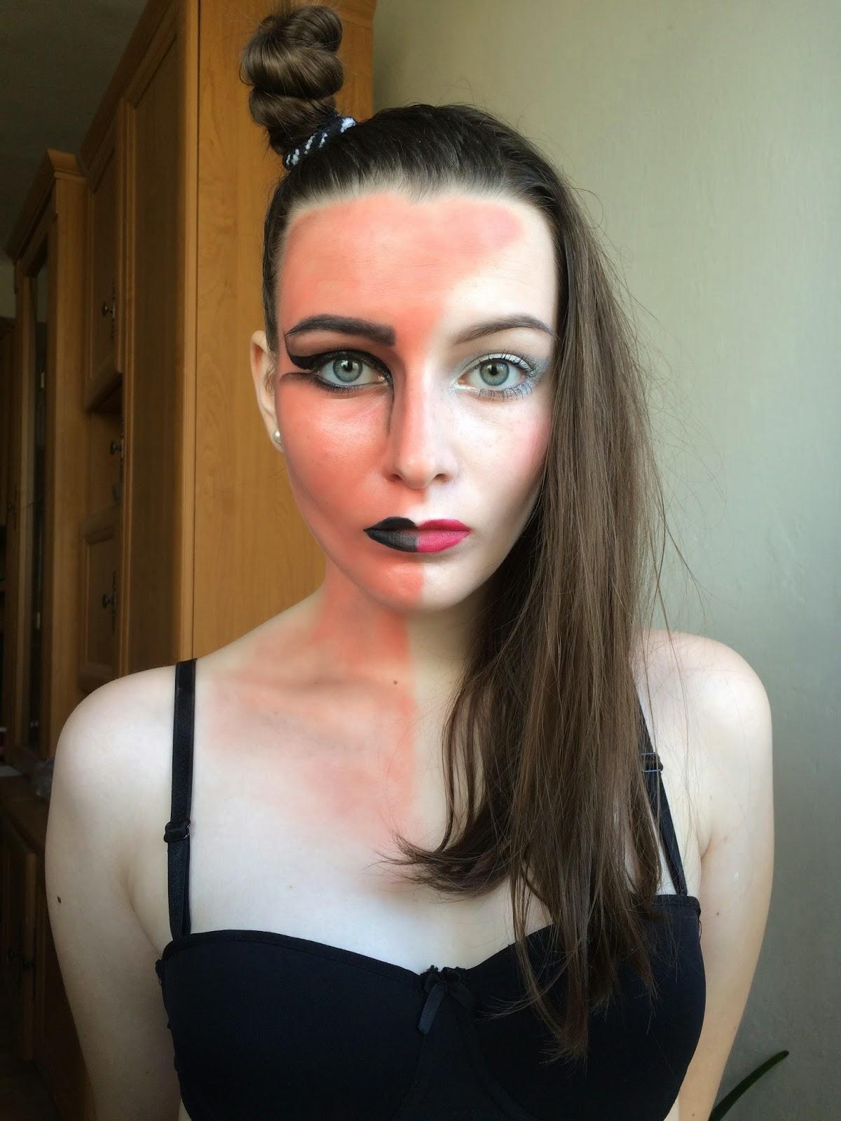 cool pincha en la imagen para verla en tamao real with maquillaje demonia mujer - Maquillaje Demonio