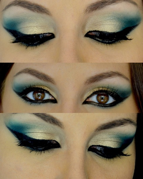 Maquillaje rabe ex tico carnaval 2018 y halloween paso a paso - Maquillage paso a paso ...