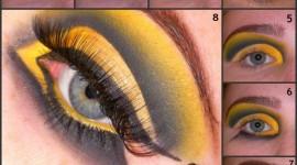 Maquillaje para disfrazarse de abeja en Halloween 2019