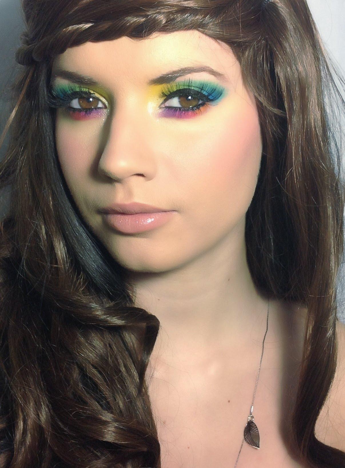 maquillaje-de-hippie-paso-a-paso-IDEAS-detalles-de-sombras ...