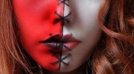 Maquillaje para disfrazarse de ángel o demonio Halloween 2019