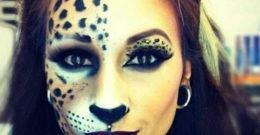 Maquillaje de leopardo para Halloween 2017 paso a paso