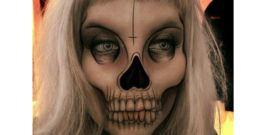 Maquillaje Halloween Muerte 2017