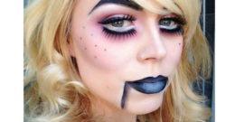 Maquillaje de Muñequita de trapo para Halloween 2018 (Vídeo)