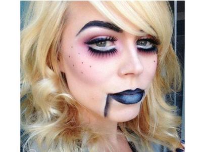 Maquillaje de Muñequita de trapo para Halloween 2017 (Vídeo)
