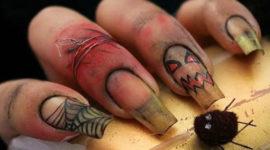 Vídeos de decoración de uñas motivos Halloween 2017