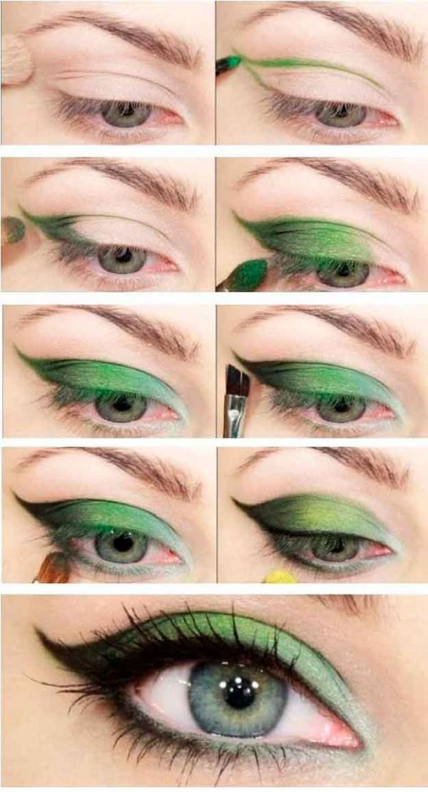 maquillaje para ojos verdes paso a paso