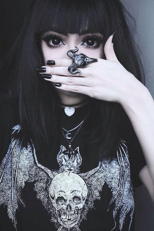 tipo de maquillaje emo