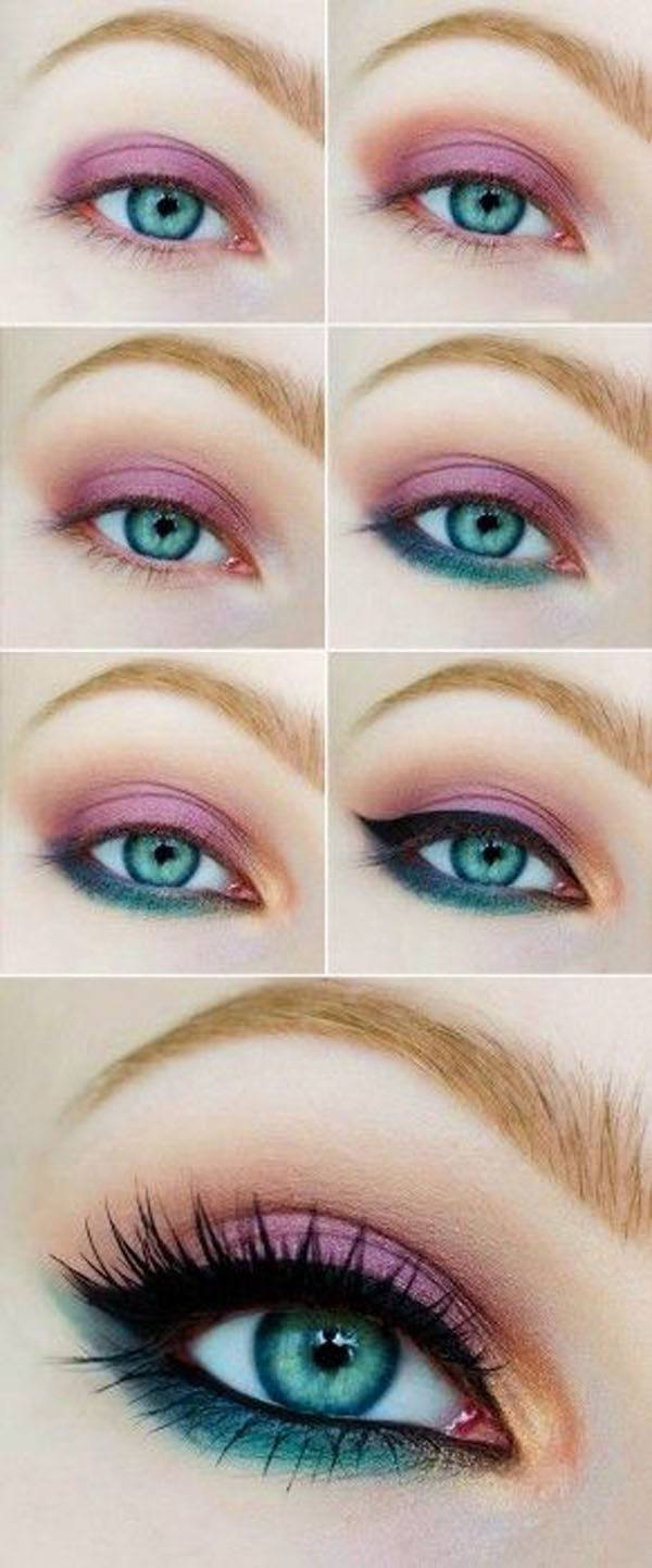 maquillaje-de-ojos-para-san-valentin-sombra-rosa