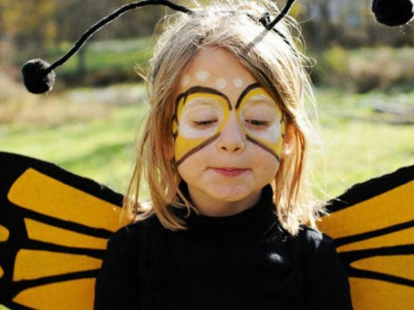 maquillaje-abeja-halloween-2016-niña