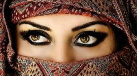 Maquillaje árabe exótico Halloween 2019 – paso a paso